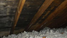 Attic Moisture, Wet Insulation, Inadequate Ventilation