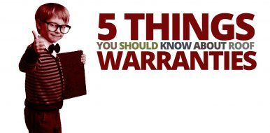 5 Things You Should Know About Roof Warranties