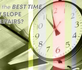 When is the Best time for Low Slope Roof Repairs?